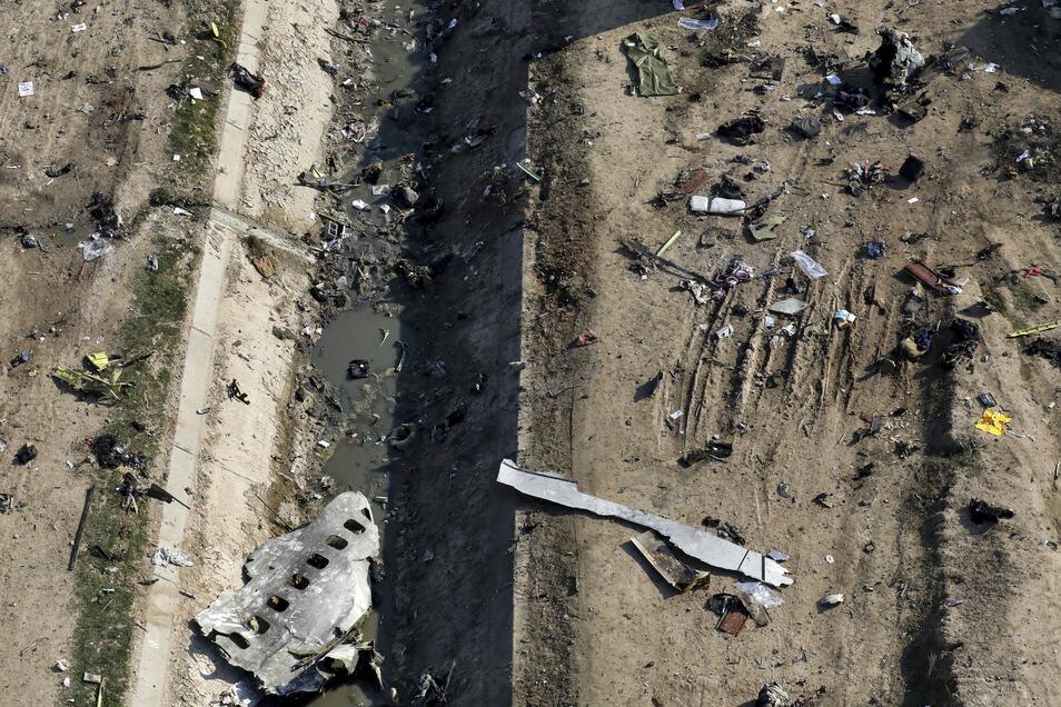 Das ukrainische Flugzeug war am Tag eines iranischen Luftangriffs auf US-Militärstützpunkte im Irak kurz nach dem Start in Teheran irrtümlich abgeschossen worden.