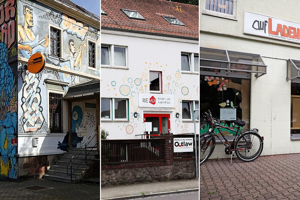 Offenes Jugendhaus, Riemix und Aufladen sind Anlaufstellen für Kinder, Jugendliche und Familien in Riesa. Aber die Träger sind auf Fördergeld angewiesen.