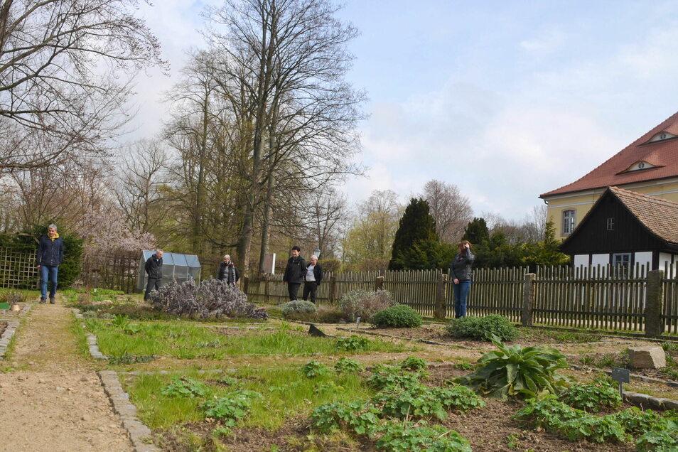 Der Kräutergarten ist immer gut besucht. Eintritt muss man nicht zahlen.