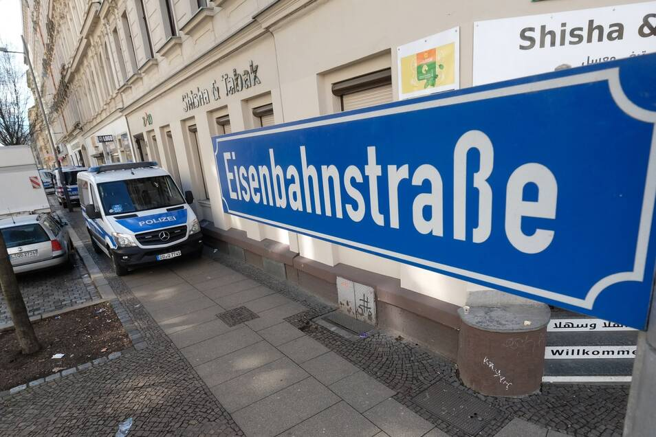 Die Eisenbahnstraße in Leipzig ist seit einem Jahr Waffenverbotszone.