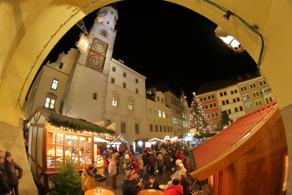 So haben viele den Christkindelmarkt auf dem Görlitzer Untermarkt in Erinnerung.