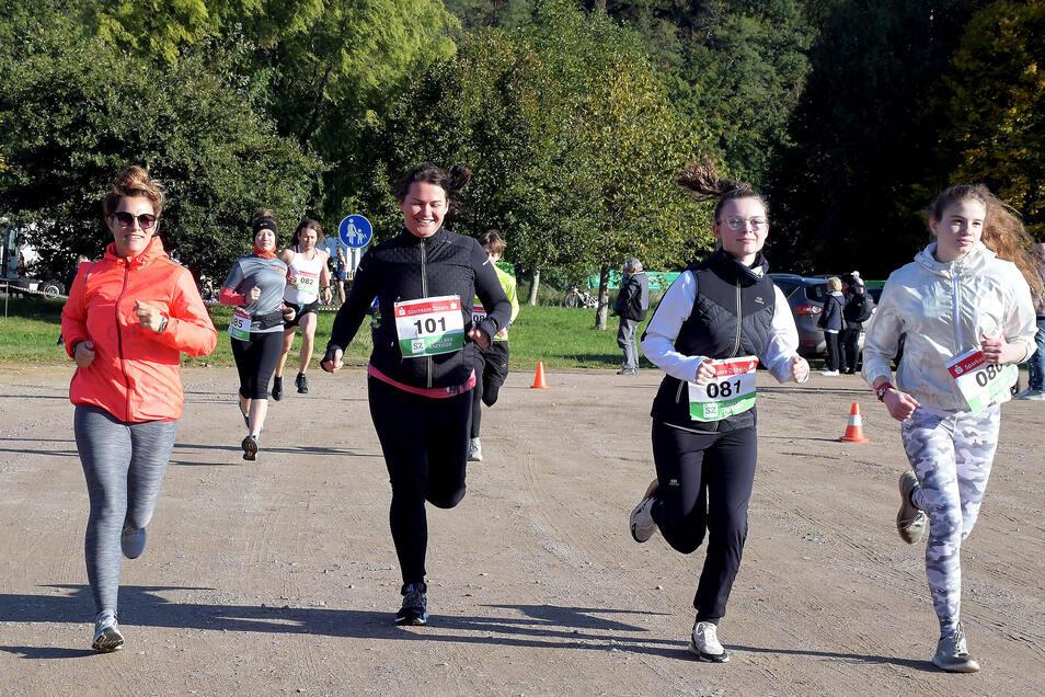 Der Leisniger Burglauf vom Oktober zählt zu jenen Beispielen, bei denen die Veranstalter Corona trotzten: mit Hygienekonzept und einer Idee für die Wettkampfgestaltung.