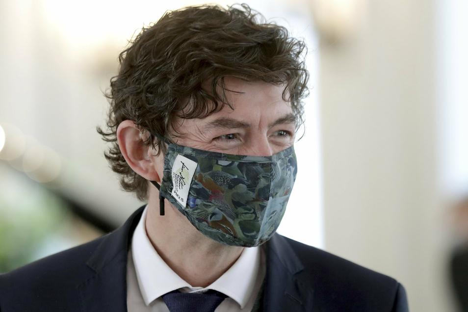 Der Berliner Virologe Christian Drosten ist gegen eine Corona-Strategie mit einer Herdenimmunität als Ziel.