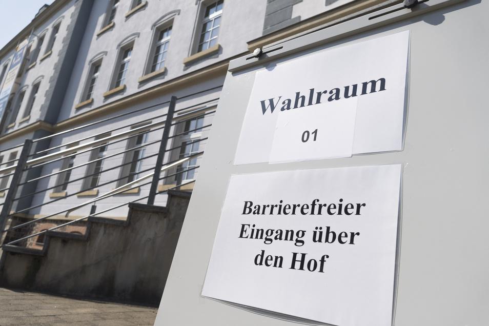 Im Riesaer Stadtmuseum am Poppitzer Platz gibt es einen barrierefreien Zugang. Nicht in allen Wahllokalen ist das so, aber in vielen.
