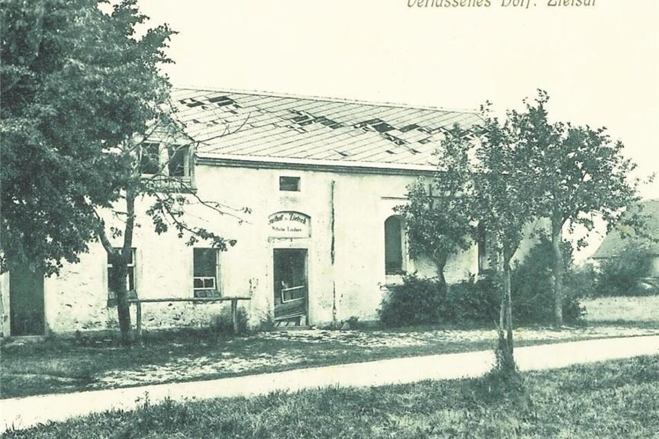 erstmals erwähnt 1363 als Zeisch beziehungsweise Zietsch (Rodungssiedlung auf dem Waldschlag), zuletzt 116 Einwohner, verlassen 1907
