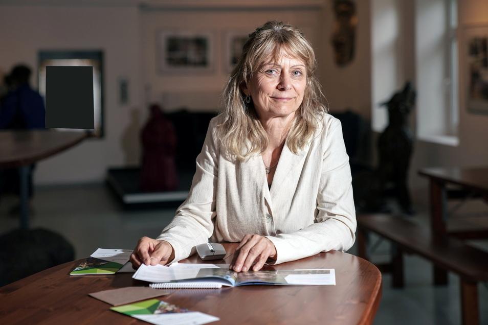 Eva Pretzsch ist die Projektmanagerin und im Vereinsvorstand des Geoparks.