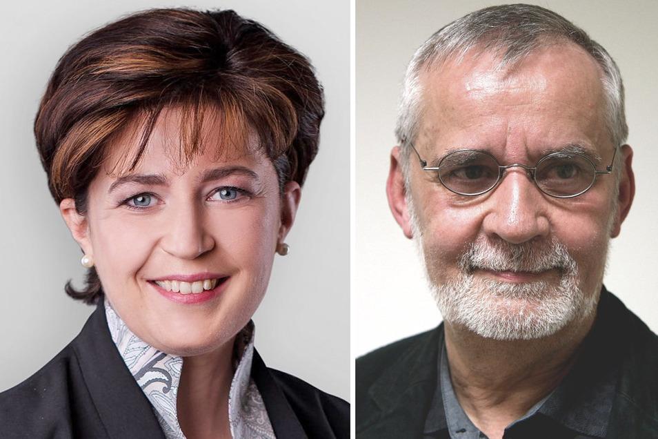 Cathleen Sträche und Dr. Jürgen Straube haben die neue Coswiger Stadtratsfraktion CDC mitgegründet. Dafür sollen sie nun aus der CDU ausgeschlossen werde.