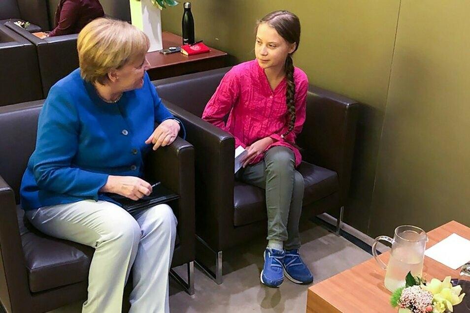 Greta Thunberg über Merkel: