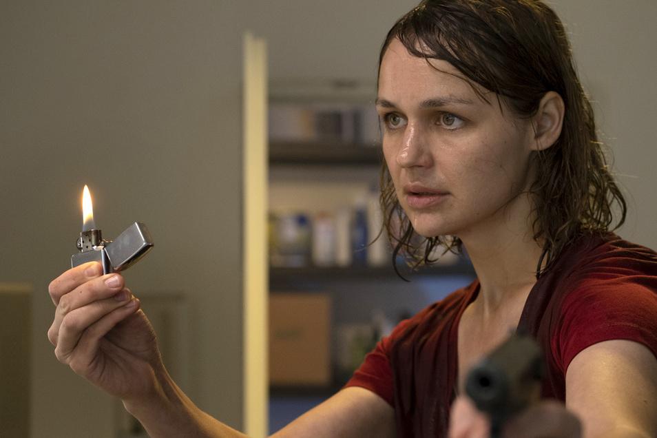 Hat nichts mehr zu verlieren: Sabine Brenner, sensationell gespielt von Luise Heyer.