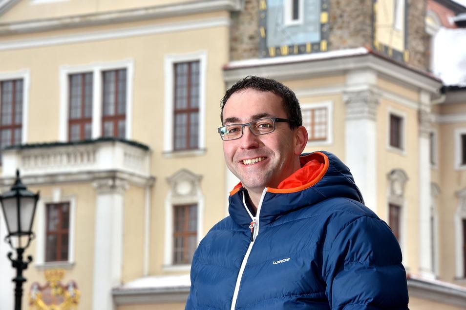 Hauptamtsleiter Guido Storch führt derzeit die Geschäfte der Löbauer Stadtverwaltung.