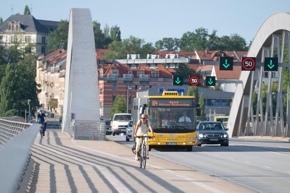 Wie soll sich Dresdens Verkehr entwickeln? Dazu sind nun auch die Dresdner gefragt.