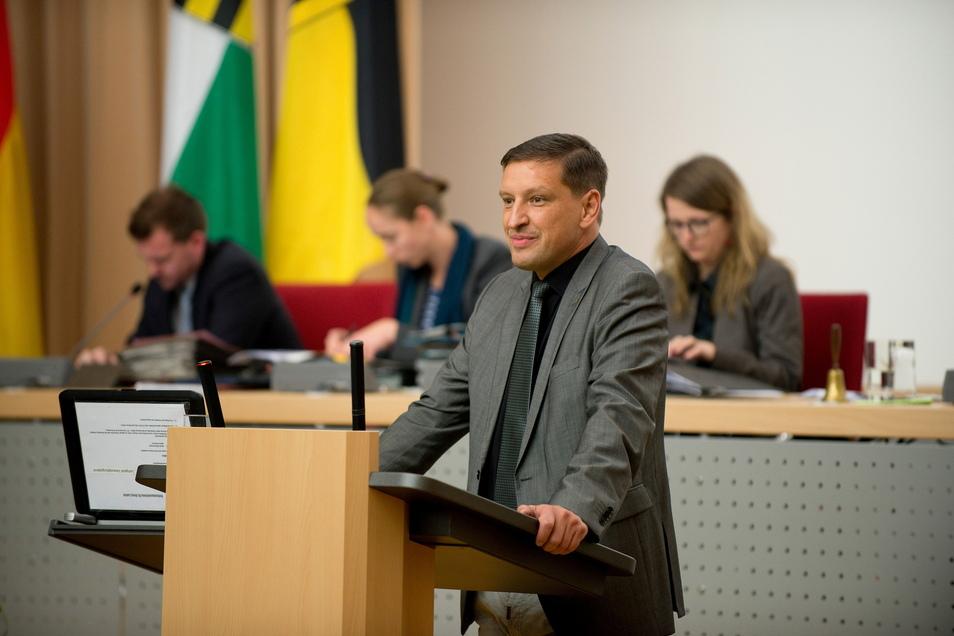 Jens Genschmar ist der Fraktionschef der Freien Wähler, die nun einiges im Rat ändern wollen.