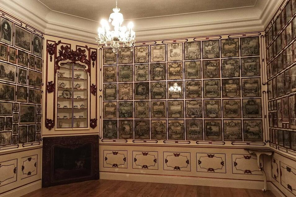 Grafikkabinett auf Schloss Duchcov