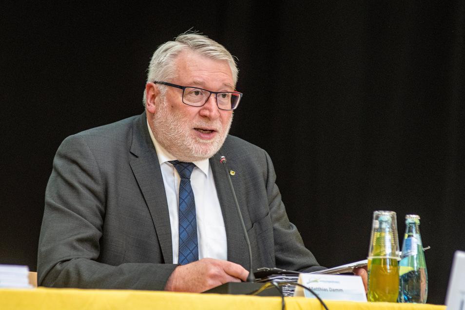 """Landrat Matthias Damm (CDU): """"Wir als Landkreis haben von Anfang an konsequent reagiert."""""""