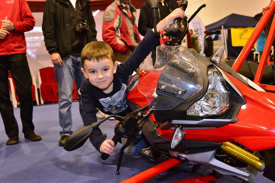 Die SachsenKrad ist für alle Motorradfans ein Highlight.