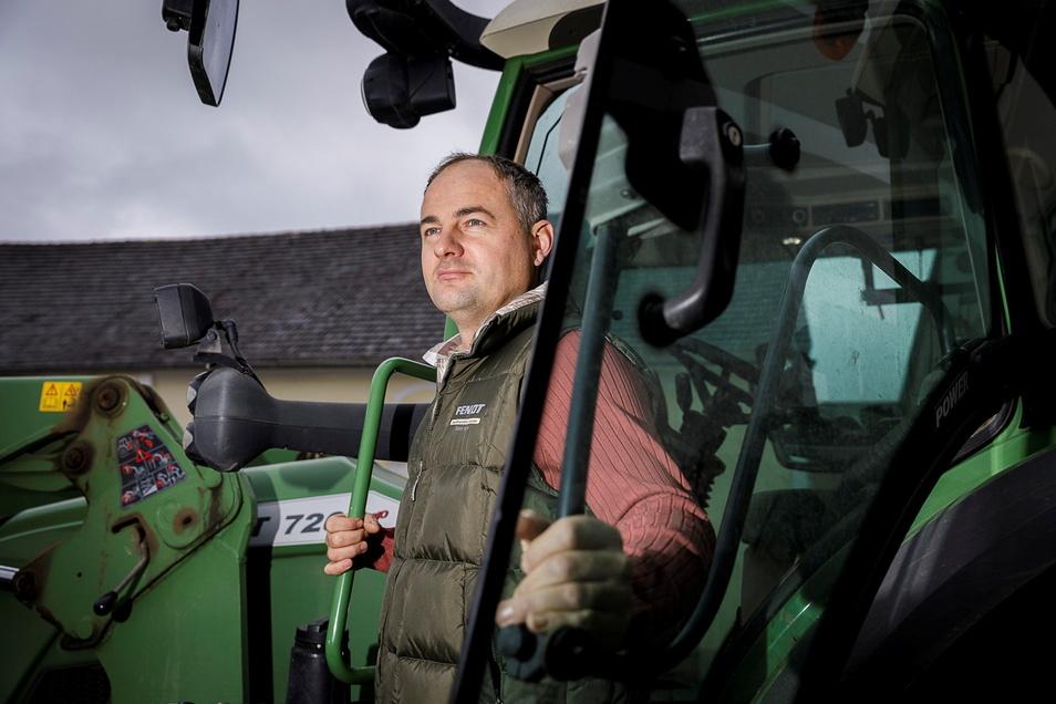 Landwirt Christoph Zachmann war schon einmal von der Geflügelpest betroffen. Er gab nicht auf und bewies Mut.
