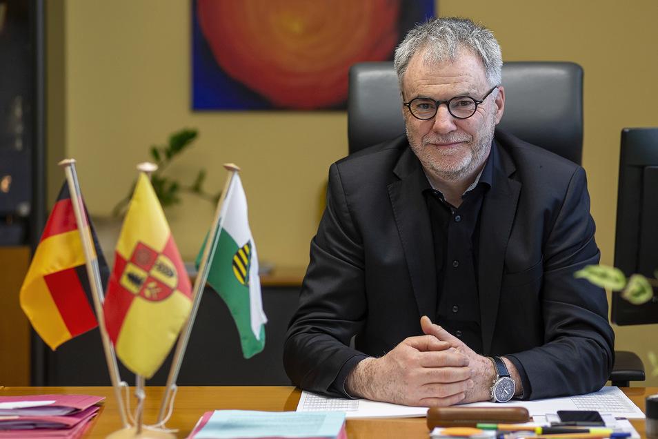 Uwe Rumberg (CDU) erwartet Armenak Agababyan zum Gespräch.