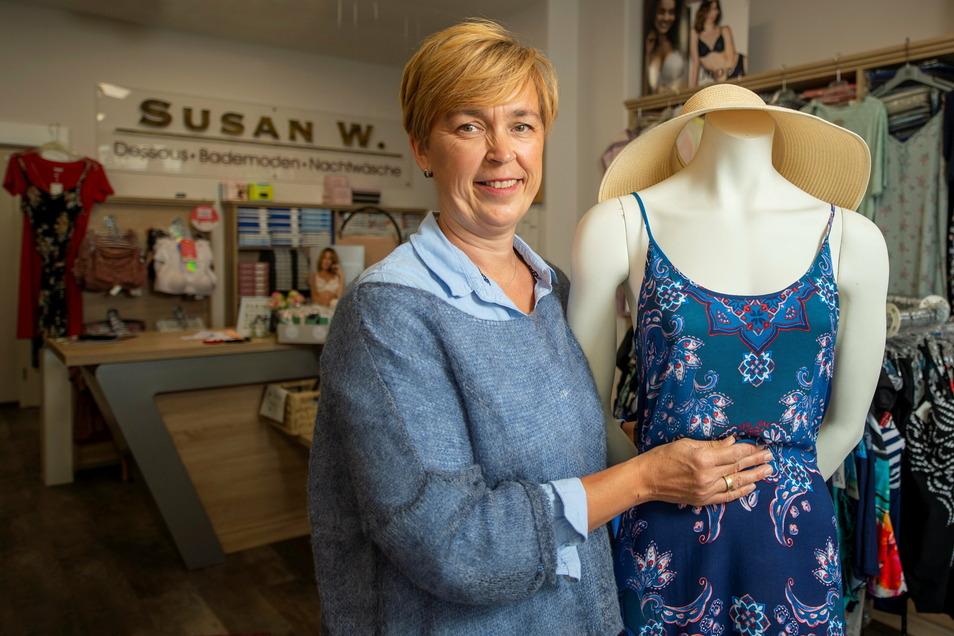 Auch Susan Gommlich bietet diesen Service in ihrem Wäschegeschäft an der Bahnhofstraße an.