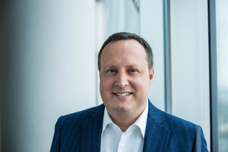 """""""Das Thema ist längst entscheidungsreif"""", sagt Telefonica-Chef Markus Haas über die Frage, ob Deutschland den chinesischen Netzausrüster Huawei ausschließen sollte oder nicht."""