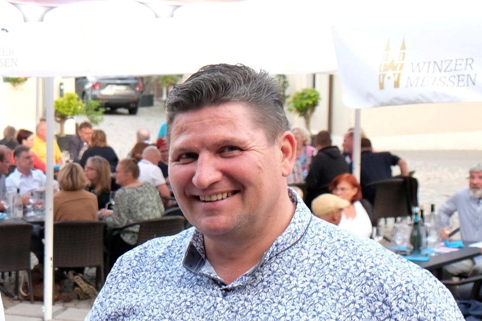 Seit zehn Jahren steht Uwe Reichel an der Spitze des Meißner Gewerbevereins .