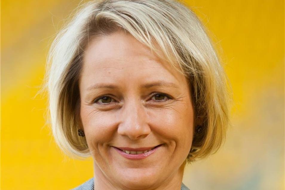 Antje Noack: Bei der Assistentin der Geschäftsführung laufen seit 2012 alle Fäden zusammen. Auch ihr Ziel lautet: Bundesliga.