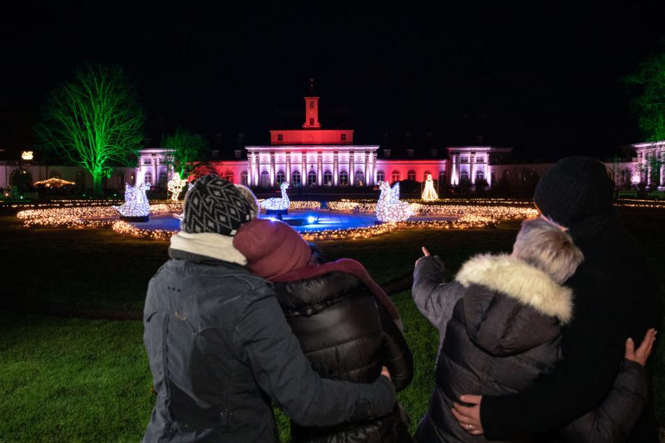 Der Christmas Garden eignet sich perfekt für romantische Spaziergänge.