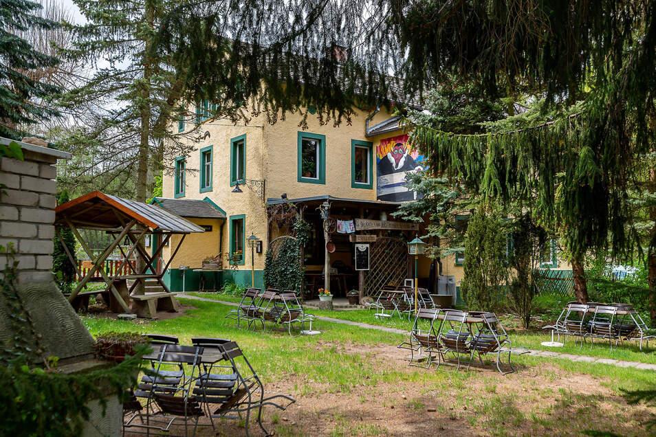 Die Teufelsmühle im Lockwitztal ist eine beliebte Ausflugsgaststätte.