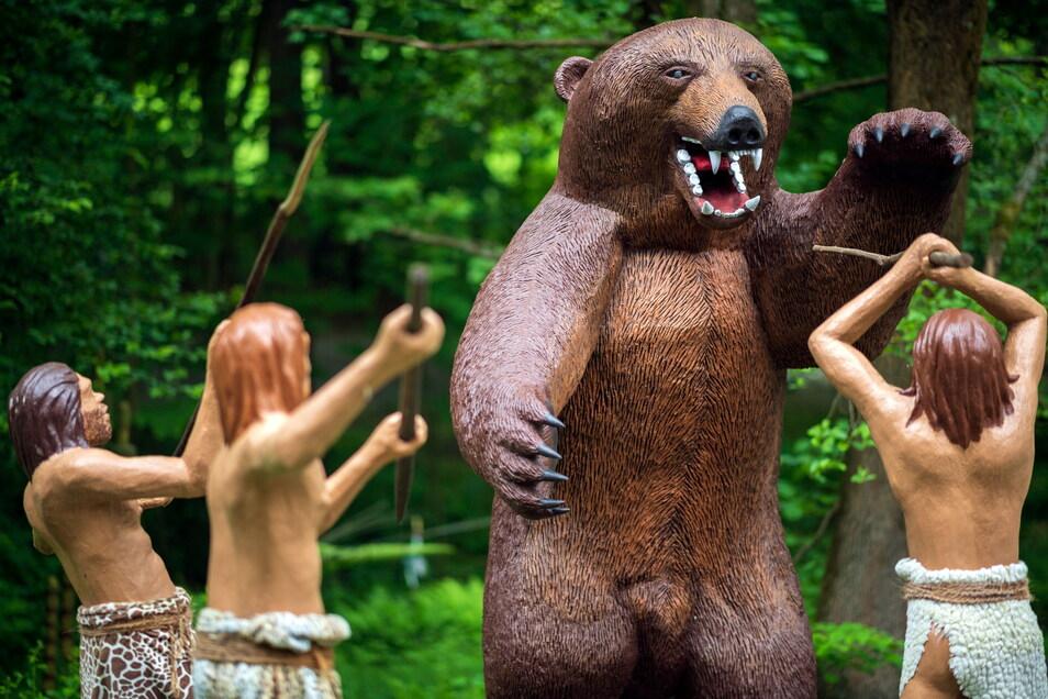 Ab dem 5. Juni hat der Urzeitpark in Sebnitz wieder geöffnet.