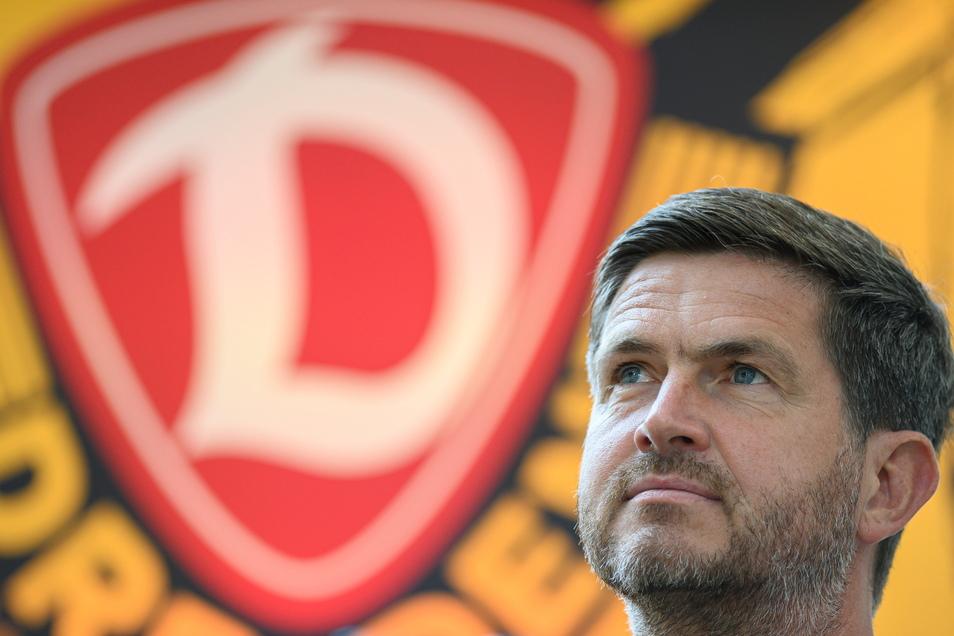 Dynamos Sportgeschäftsführer Ralf Becker setzt auch weiter auf die Jugend im eigenen Verein.