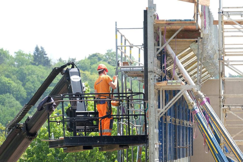 Meißens größte Baustelle ist derzeit die Grundschule auf dem Questenberg.