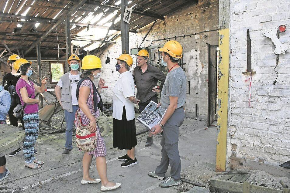 Zum Tag des offenen Denkmals am Sonntag konnte auch der Neufertbau in Weißwasser besichtigt werden. Rund 40 Besucher nahmen den Bau dabei in Weißwasser in Augenschein.