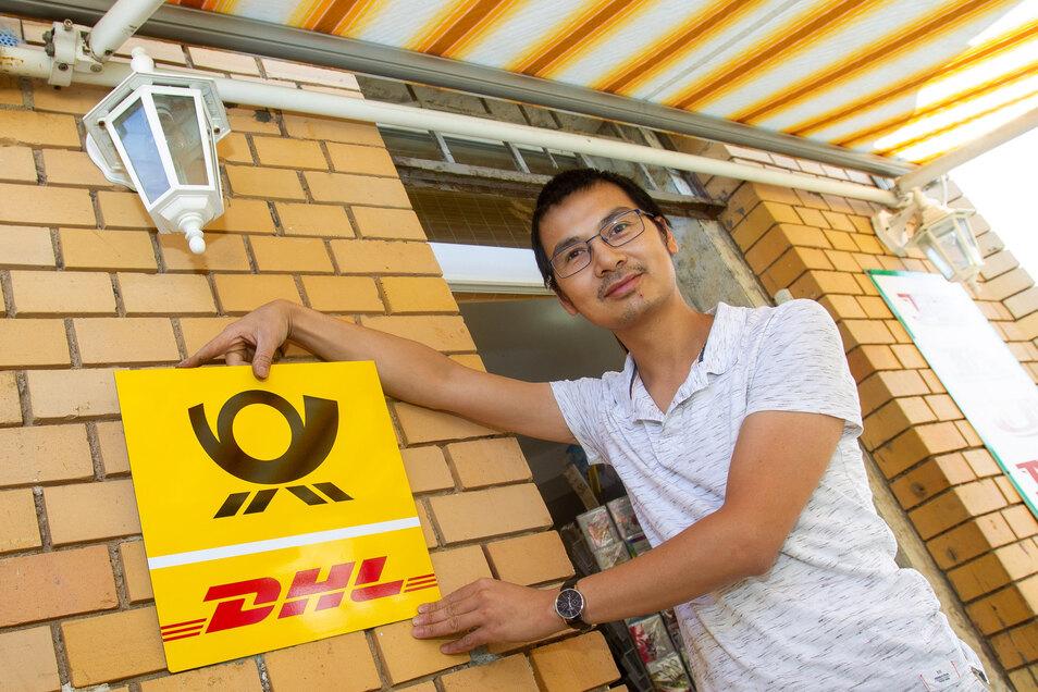 Xuan Thanh Bieniek bietet auf der Schillerstraße in Heidenau Postdienstleistungen an.