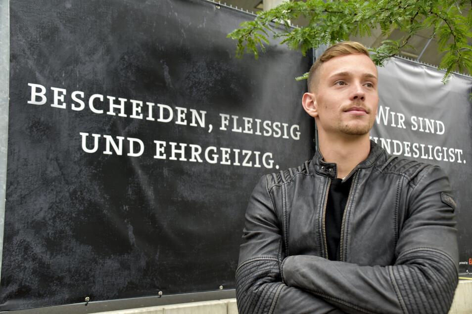 Kapitän Jannik Müller