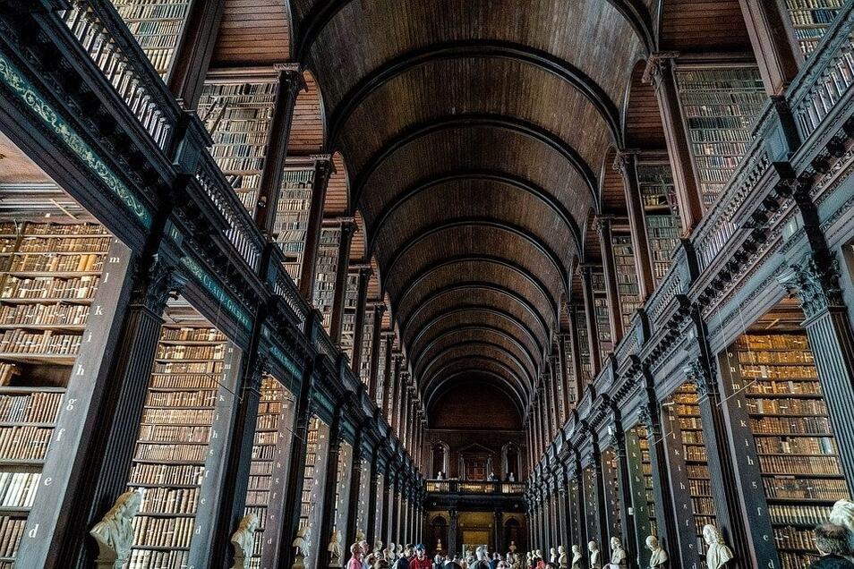 Bibliothek in Dublin