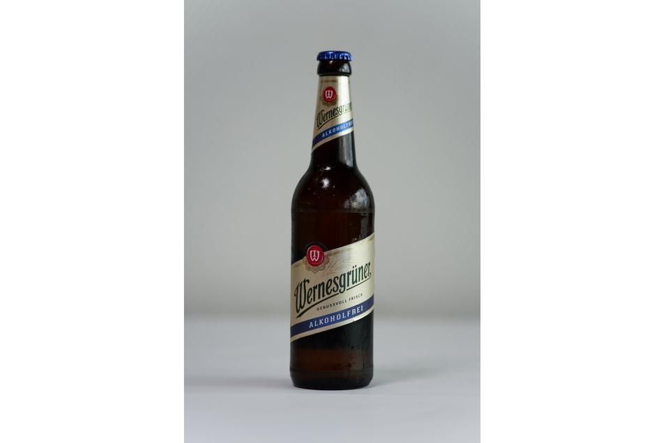Marke: Wernesgrüner, Braustil: untergärig; Alkoholgehalt: