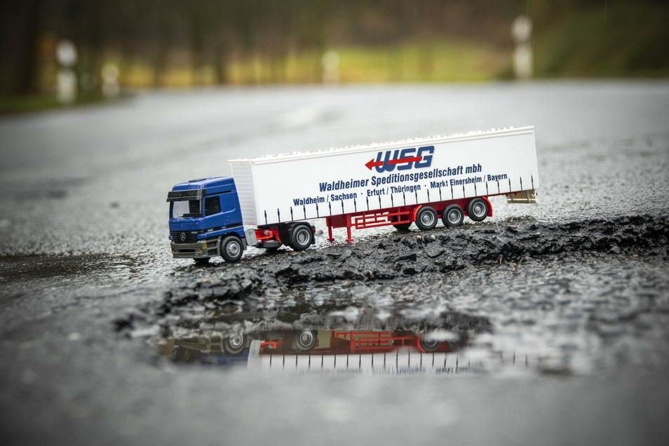 Waldheim gibt etwa 117.000 Euro aus, um schlechte Straßen zu sanieren.