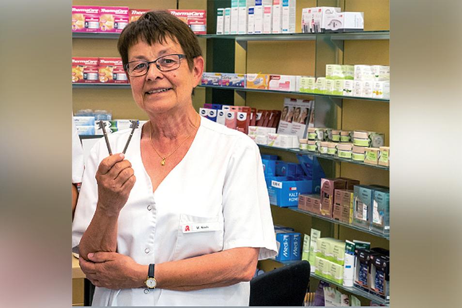 Die Harthaer Apothekerin Monika Koch wird mit dem Bundesverdienstorden geehrt.