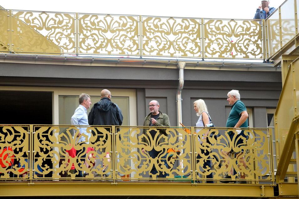 Am Tag des offenen Denkmals konnten die Zittauer schon mal einen ersten Blick in das neue Hotel werfen.