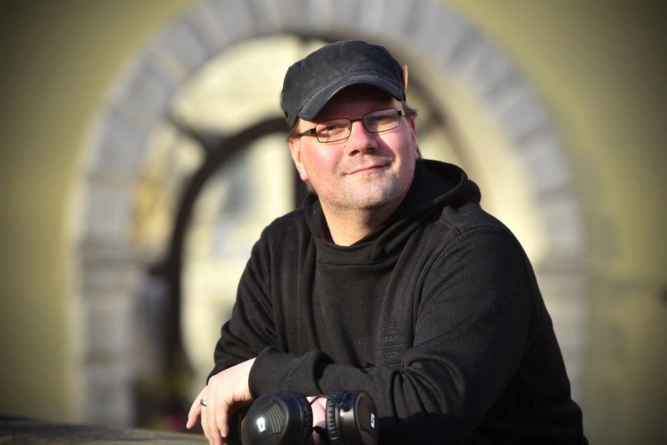 """Jan Krüger ist nicht mehr in der Gruppe """"Corona Hilfe Zittau"""" aktiv, er hat nun eine zweite Gruppe gegründet."""