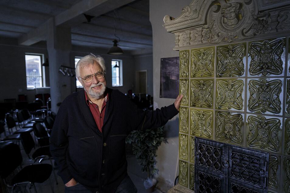 Auch bei Rainer Michel in der Alten Synagoge auf der Langenstraße haben die Filmleute gedreht.