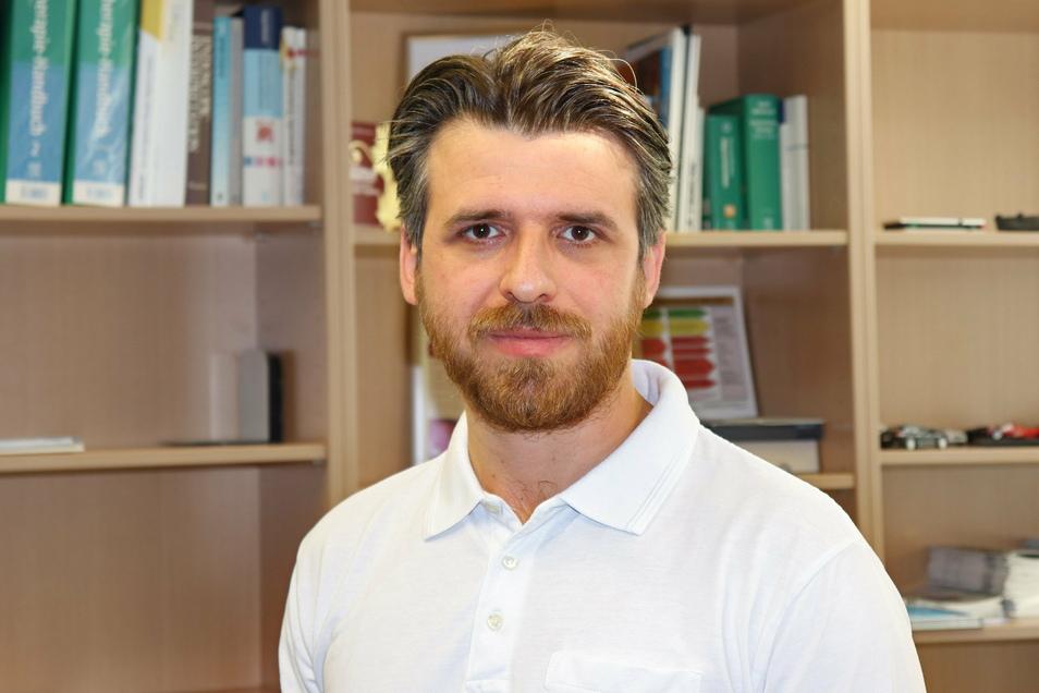 Der neue Chefarzt für Innere Medizin am Görlitzer Malteser-Krankenhaus St. Carolus: Marjan Stojanoski