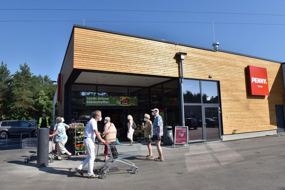 Am Donnerstag wurde der neue Pennymarkt in Graupa eröffnet.