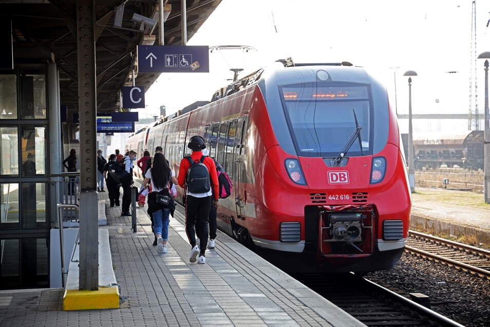 Nur die Nahverkehrslinien der Deutschen Bahn kommen vom 17. bis 21. September in Riesa an. ICE und Intercity-Züge sieht man in dieser Zeit hier nicht.
