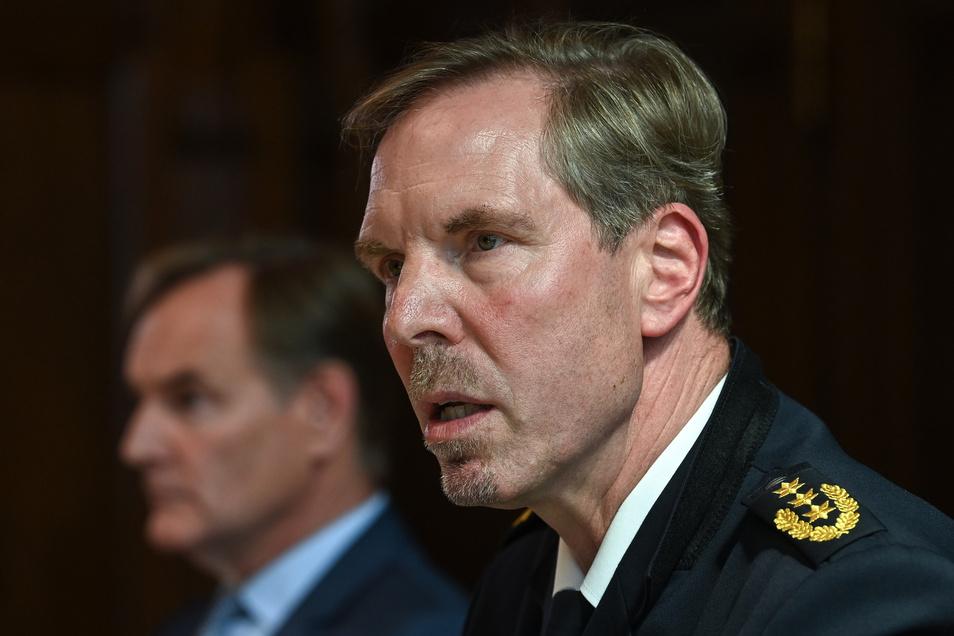 Wird künftig ein Referat im Innenministerium leiten: Der bisherige Polizeipräsident Torsten Schultze.