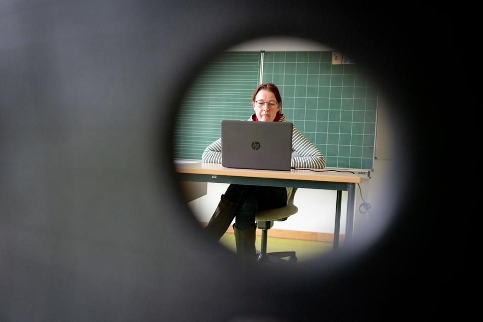 Ein wenig Schulunterricht findet derzeit ausschließlich online statt.