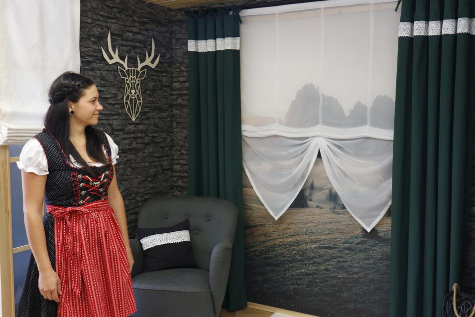 Lucie Kessler ließ sich von Hotelzimmern in den Südtiroler Bergen inspirieren.