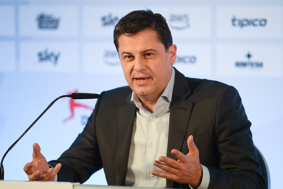 DFL-Geschäftsführer Christian Seifert.