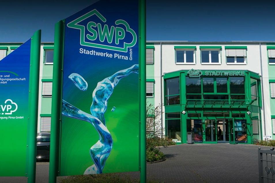 Kundenzentrum der Stadtwerke Pirna: Bis 10. Januar für den Besucherverkehr geschlossen.