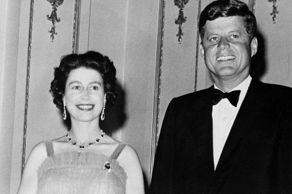 1961 traf Königin Elisabeth II. den damaligen US-Präsident John Kennedy