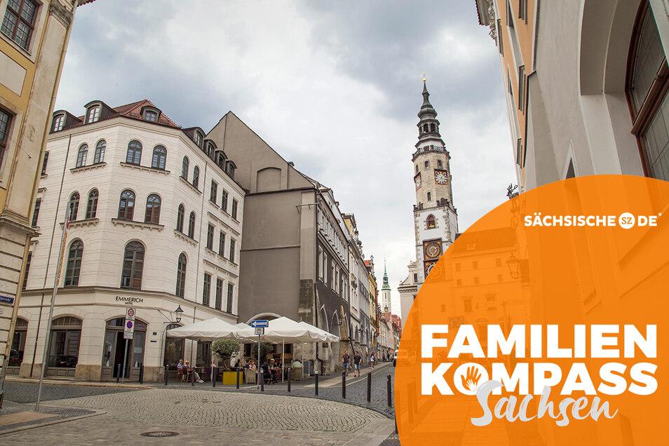 Die Görlitzer Altstadt schneidet beim Familienkompass recht gut ab - allerdings nicht, wenn es um die Zukunftschancen der Kinder geht.